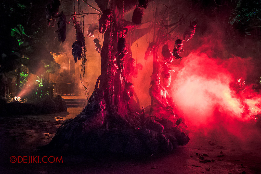 Halloween Horror Nights 6 Sneak Preview - Suicide Forest 3