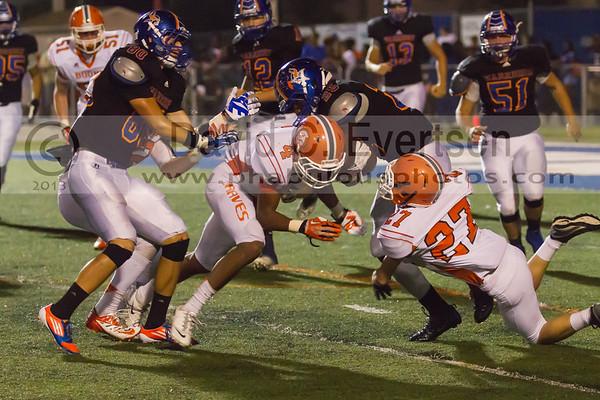 Boone Varsity Football #27 - 2013