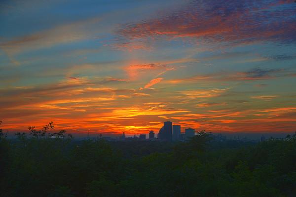 20140725 Cobbs Hill Sunset
