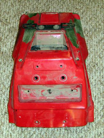 KLR650 front fender, rear fender, front shroud