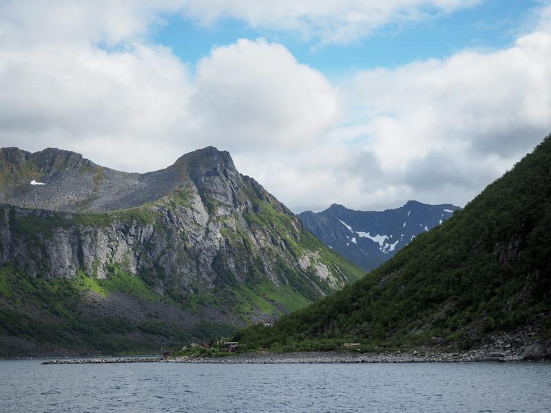 Gryllefjord to Andenes ferry views