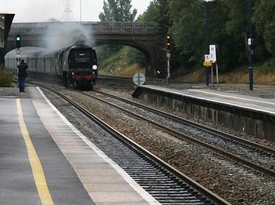 Steam On Network Rail and London Underground