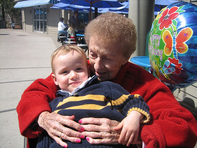 Great Grandma's 97th Birthday April 2008