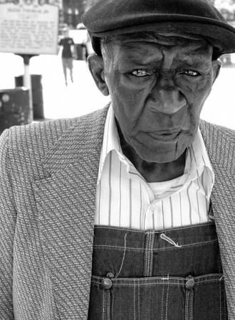 Man on Beale street.  Memphis, Tennessee -2000