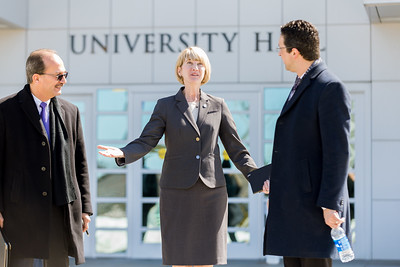 Chancellor Johnson Visits UAlbany