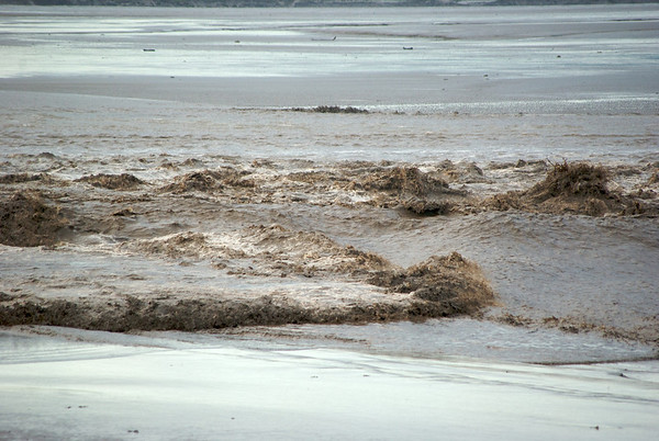 The Severn Bore collides with itself!