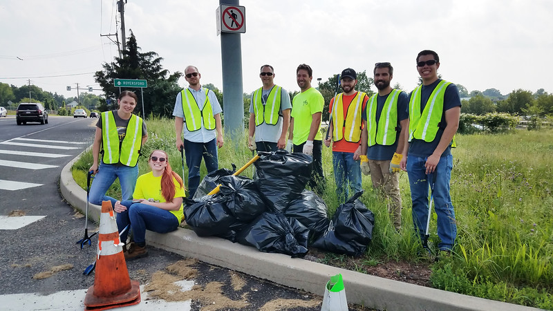June 2018: Summer Adopt-a-Highway Cleanup