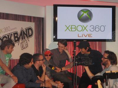 XBOX Rockband Launch Ibiza