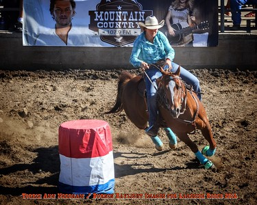 Megan Isler, LakesideRodeo Jr. Barrel Race 2016