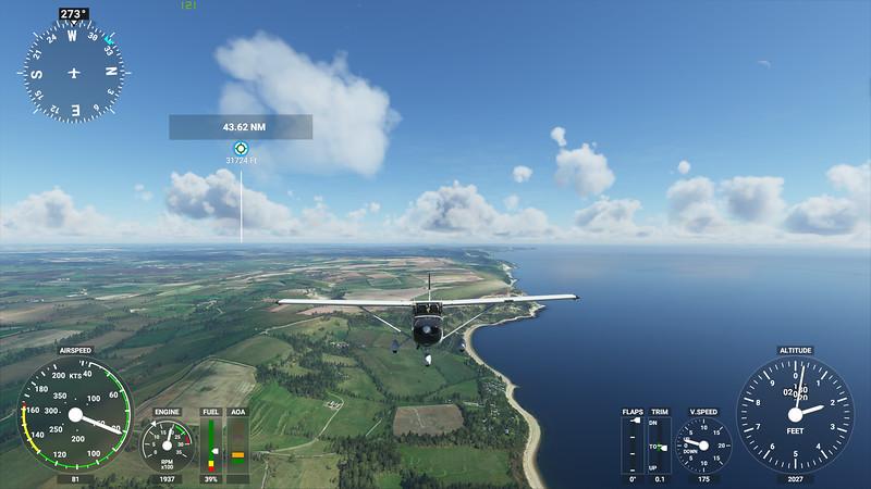 MSFS, Microsoft Flight Simulaor - Sun 23/08/2020@15:48