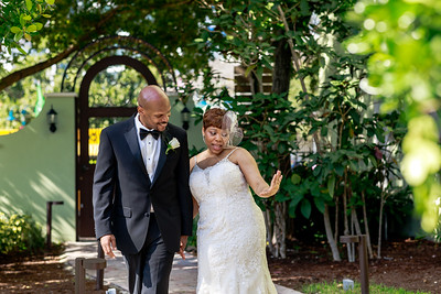 Delvis and Tamekia Nixon's Wedding