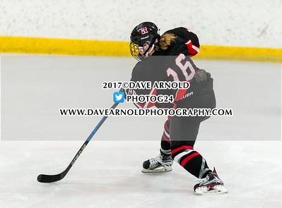 3/13/2017 - Girls Varsity Hockey - MIAA D1 Semifinal - Reading vs Needham