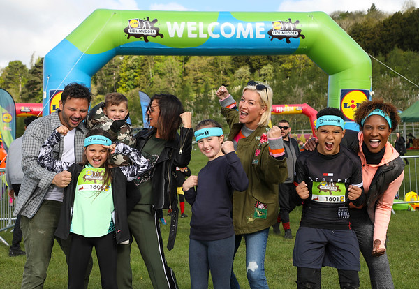 4/5/19 - STARS ATTEND LAUNCH OF LIDL MUDDER