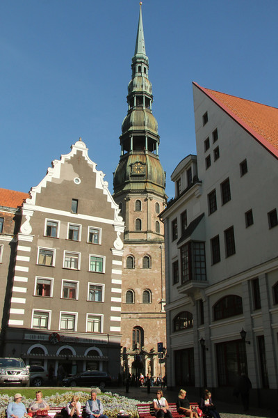 St. Peter's Church -Riga, Latvia