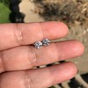 1.75ctw Old European Cut Diamond Pair, GIA J VS1/J VS1 19