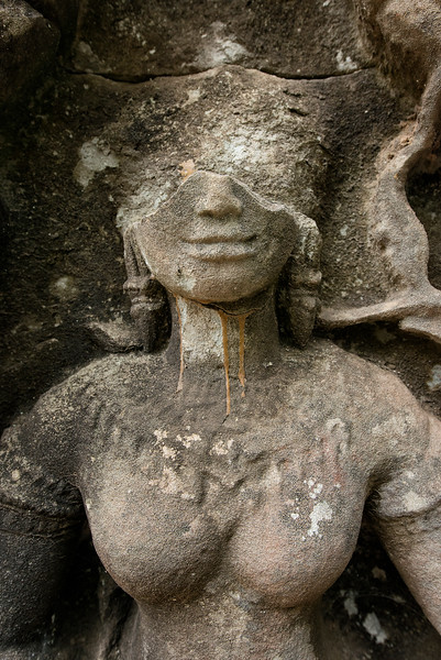 Statue at Ta Prohm, Siem Reap, Cambodia - 2015
