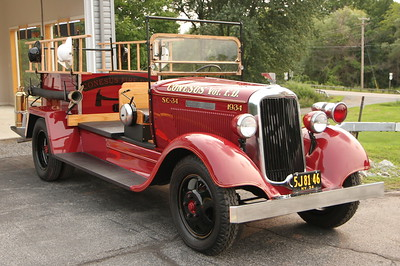 Conesus FD - Dedication Ceremony for the restoration of the 1934 Dodge Brothers Antique fire truck - August 18, 2018