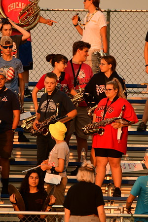 Pep Band at Football