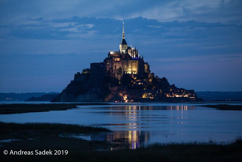 Der Le Mont-Saint-Michel präsentiert sich jetzt von seiner schönsten Seite