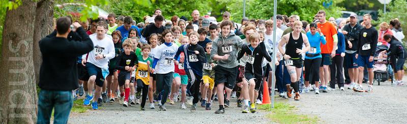 2012 Ben Layton Memorial 5K Run/Walk: Runners