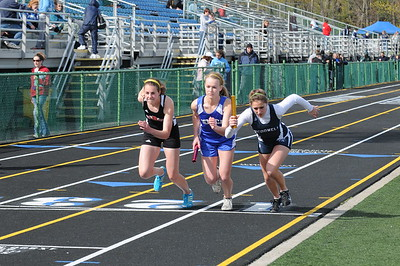 Girls Track Events