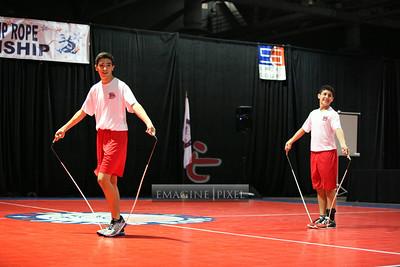 6/29 Single Rope Pairs Freestyle Heat 8-9