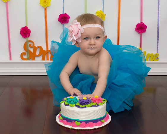 Izzy is ONE!!!