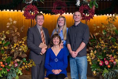 PUC Church Thanksgiving  Family Photos 2012