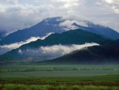 Mountains on O'ahu, Hawaii