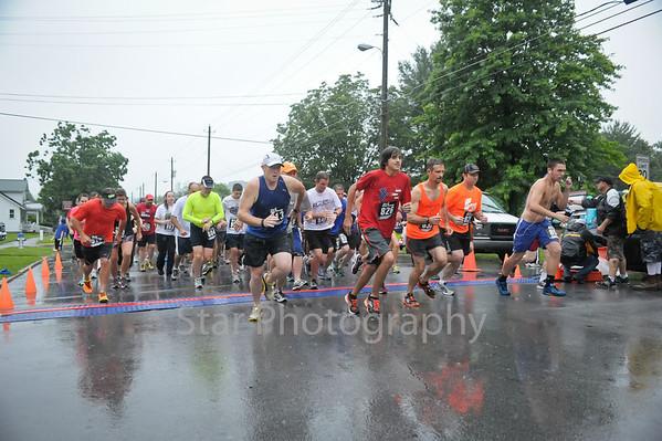United Way Stars and Stripes 4 mile Run/Walk 7-3-2013