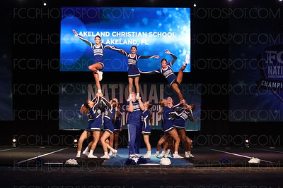 48. Lakeland Christian School Lakeland FL Varsity Non Tumbling
