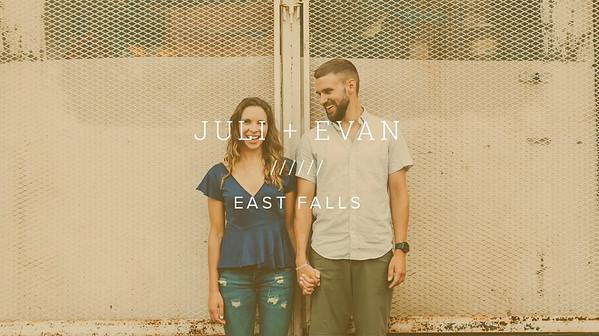 JULI + EVAN ////// EAST FALLS