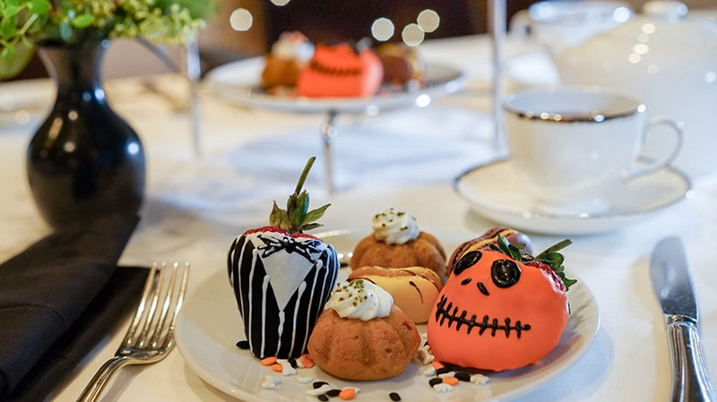TRICK OR TEA at the Disneyland Hotel offers spooktacular twist to regular tea offering