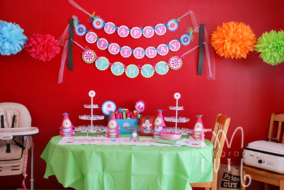 Taryn's First Birthday Party