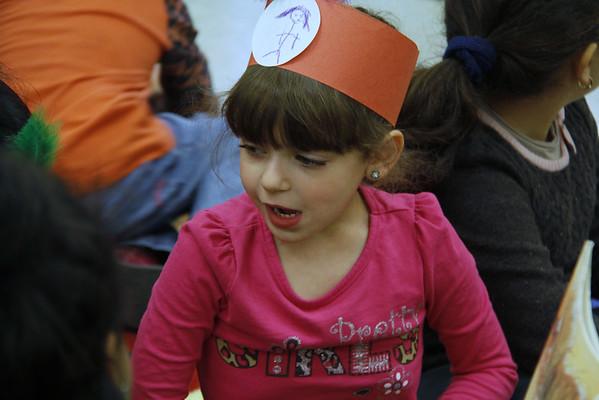 Child development Thanksgiving party