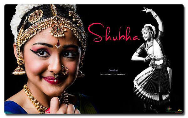 Shubha's Pre-Arangetram Portraits 2021