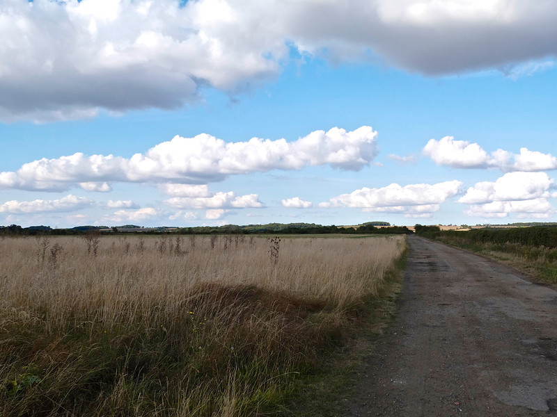 Tempsford airfield and barn.