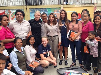 Softball Players Go to Ecuador