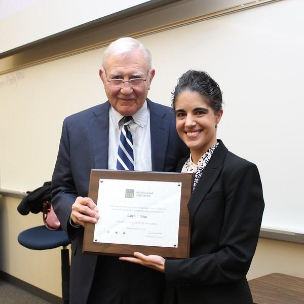 Erin Palmer Polly & Gareth Aden, President's Award
