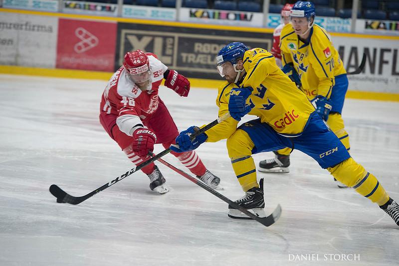 Denmark vs Sweden 0 - 2 training game 18.04.2019