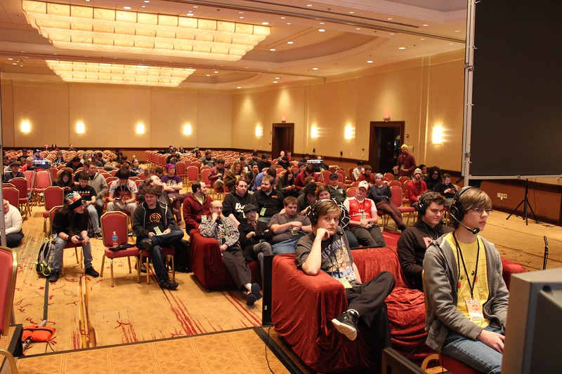 super monkey ball adventure crowd.jpg