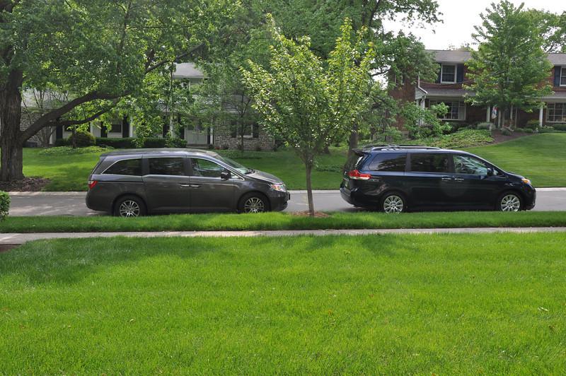 Grandaddy's and Dada's Minivans