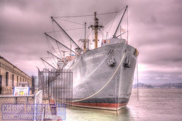 USS Pampanito and SS Jeremiah O'Brien
