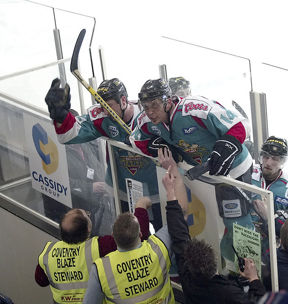 Blaze v Belfast Giants - 08/01/2006