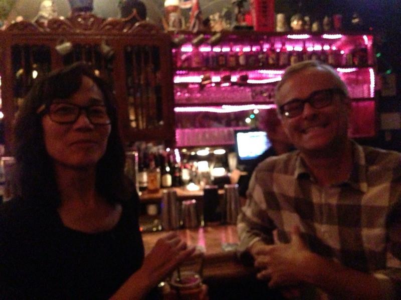 Tracy Wong McGrath and Richard Swearinger