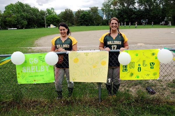2012 BBA Girls Varsity Softball vs Woodstock photos by Gary Baker