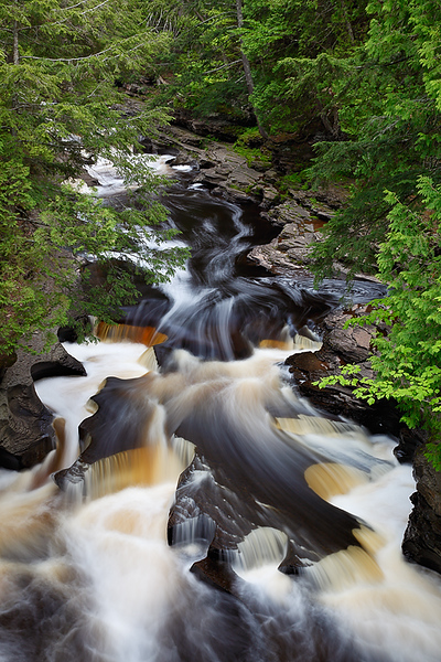 Worn Through Time II - Presque Isle (Porcupine Mountains State Park - Upper Michigan)