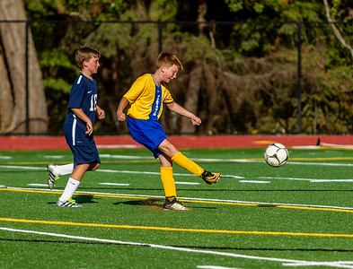 Second half Set three: McMurray Mustangs Boys Soccer v Annie Wright 09/25/2018