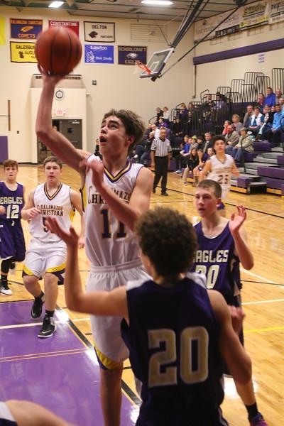 Basketball bfr Schoolcraft - KCHS - 1/12/17