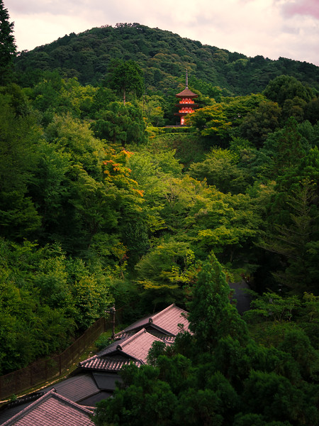 The Pagoda in the Hills